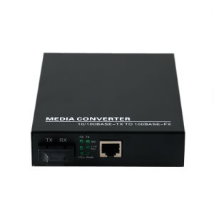 Internal Power Supply Gigabit Media Converter Single Mode 20km (Mc1004sc) pictures & photos