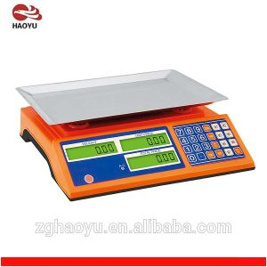 Commercial Electronic Weighing Price Computing Scale 3kg-60kg pictures & photos