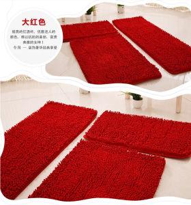 Microfiber Chenille Floor Mat Sets 3PCS Polyester pictures & photos
