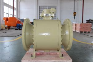 Forged Floating Trunnion Control Valve Ball Valve pictures & photos