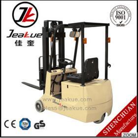 1.0t 1.2t 3 Wheels Electric Forklift Truck pictures & photos
