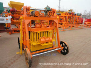 Qt40-3b Mobile Egg Layer Block Making Machine Concrete Brick Forming Machine pictures & photos