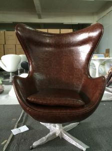 Modern Egg Chair /Swan Chair with PU for Leather Furniture and Office Chair pictures & photos
