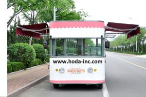 Bakery Cake Mobility Bus, Tricycle Fast Food Shop Car 80km/Charge (CC4000-B) pictures & photos