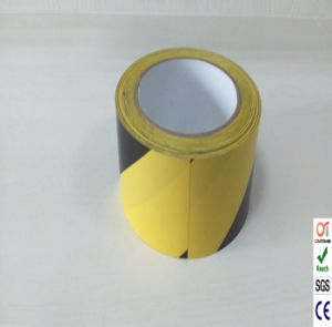 Safety PVC Warning Tape and PVC Floor Marking Tape pictures & photos