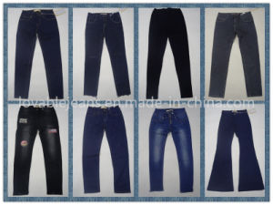 7.3oz Black Ladies Pants (HY16002C) pictures & photos