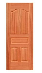 Smooth Moulded Wood Door Skin (wood door skin) pictures & photos
