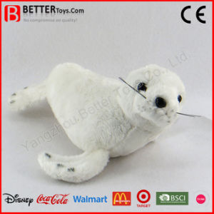 Realistic Stuffed Plush Animal Soft Toy Seal pictures & photos