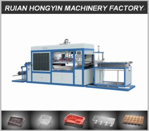 Double Heaters Plastic Vacuum Forming Machine pictures & photos