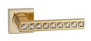 Hot Zinc Alloy Door Lock Handle (Z0-0173 22K)