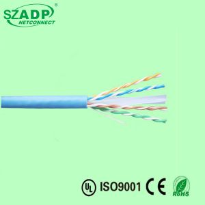 2017 New Networking Cable UTP FTP CAT6 Ethernet Cable Solid Copper CCA 1000FT Price pictures & photos