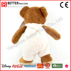 Plush Toy Soft Teddy Bear in Cloth for Kids pictures & photos