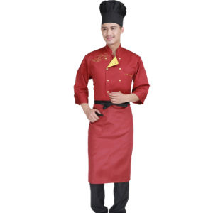 Manufacturers Direct Top Quality Cotton Chef Uniform Kitchen Uniform pictures & photos