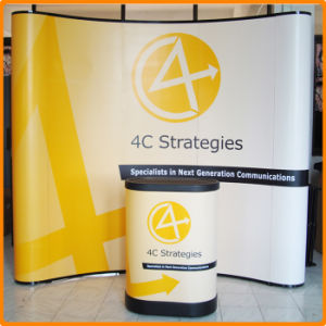 3X3m Curvy Shape Pop up Display Stand for Trade Show (PU-02-A) pictures & photos