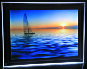Desktop Acrylic Photo Frame with LED Backlit Light Box (CST03-A4L) pictures & photos
