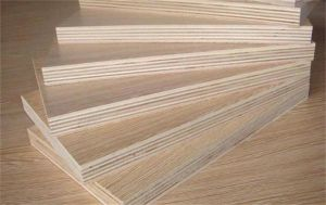 Texture Surface Finished Melamine Plywood pictures & photos