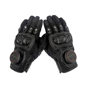 Police Security Tactical Gloves with Leather Material pictures & photos