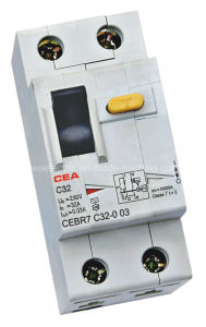 Cebr7 Residual Current Breaker with Overload Protection pictures & photos