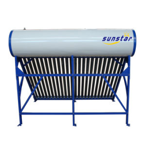 Glass Tube Non-Pressure Solar Water Heater pictures & photos