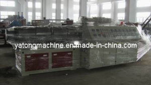 Conical Double Screw Extruder for PVC Pipe pictures & photos