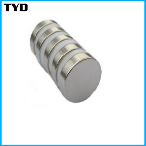 2016 High Quality Sintered Super N48 NdFeB Permanent Magnet Disc