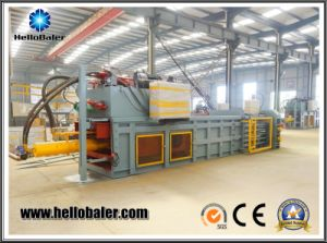 Hydraulic Semi-Aotumatic Waste Paper/Plastic Baler with High Quality pictures & photos