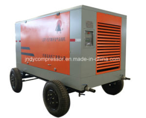 Air Cooled Movable Rotary Compressor pictures & photos