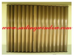 Aluminium Window - Accordion Shutter Window pictures & photos