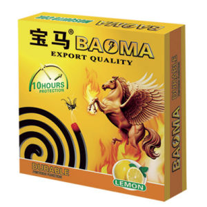 130mm Lemon Baoma Mosquito Coil (bm-62) pictures & photos