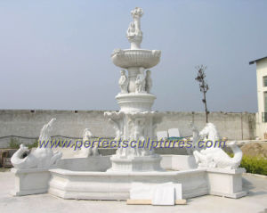 Carved Stone Fountain for Garden Water Fountain (SY-F214) pictures & photos