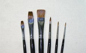 Artist Watercolor Brush (SFB0095)