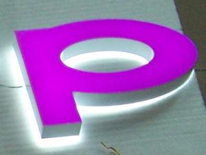 LED Backlit Letter Display Sign
