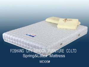 Spring & Memory Foam Mattress (MD06) pictures & photos