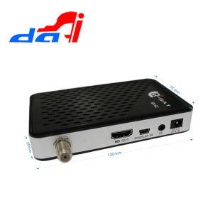 Cheap Q Sat Q16c Mini HD Decoder with FTA and Plastic