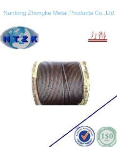 Derricking Ungalvanized Steel Wire Rope pictures & photos