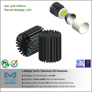 Aluminum Extrusion LED Heat Sink for All Branded LED Modules