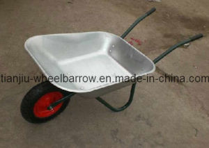 Galvanize Tray Wheelbarrow (WB6204) for Russian Market pictures & photos
