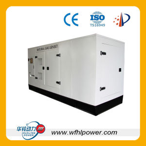 100kw Gas Generator Set Silent Type pictures & photos