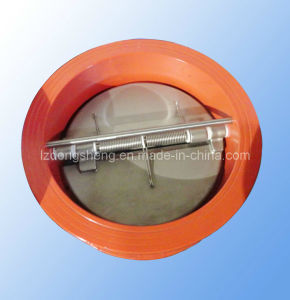 Double Disc Wafer Type Check Valve pictures & photos