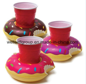 3 Pk Donuts Beverage Boat Inflatable Cup Drink Can (CPCQ-004) pictures & photos