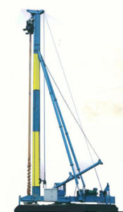 Hydraulic Foot-Step Long Screw Drilling Machine (CFG30)