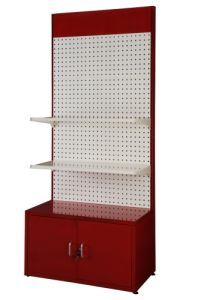 Metal Pegboard Display Stand with Hooks pictures & photos