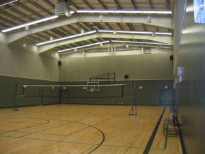 China Pre Engineered Steel Structure Basketball Court Ss