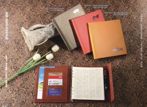 Leather Notebook / Spiral Notebook Company Gift pictures & photos