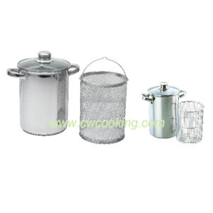 3PCS Stainless Steel Asparagus Pot pictures & photos