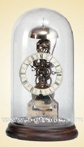 Copper Skeleton Clock (JGG12)