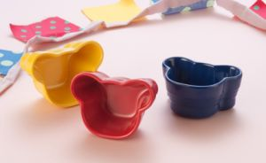 Melamine Bear Shape Sauce Dish/Cake Bowl (CCB36) pictures & photos