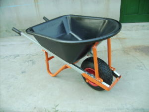 150kg Load Capacity Wheel Barrow (WB6012P) pictures & photos