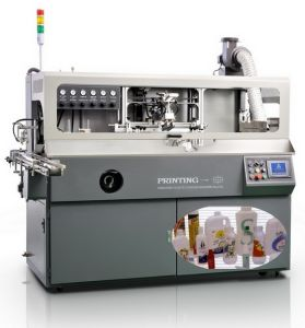 Full Automatic Bottle / Container Screen Printer (SZD-102B)