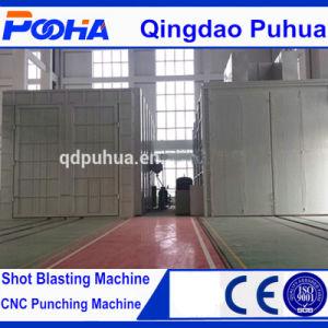Shot Blasting Chamber Sand Blasting Room Sandblasting Booth pictures & photos